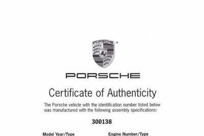 1964 Porsche 901 / 911 Coupe - 300 138  Maxted-Page Classic & Historic Porsche 23