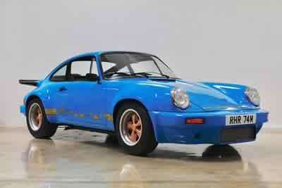 1974 Porsche Carrera 3.0 RS - 911 460 9092  Maxted-Page Classic & Historic Porsche 34