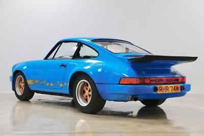 1974 Porsche Carrera 3.0 RS - 911 460 9092  Maxted-Page Classic & Historic Porsche 35