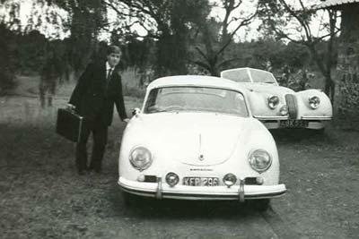 For Sale 1956 Porsche 356 A Carrera Coupe - The ex-John Lucas - 28