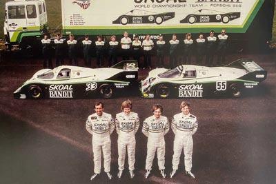 1984 Porsche 956B Group C - 956-114 Maxted-Page Classic & Historic Porsche 12