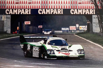 1984 Porsche 956B Group C - 956-114 Maxted-Page Classic & Historic Porsche 14