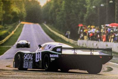 1984 Porsche 956B Group C - 956-114 Maxted-Page Classic & Historic Porsche 19