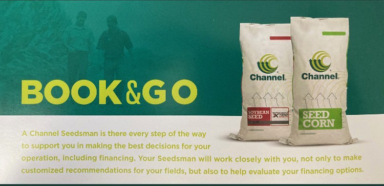 Channel Seed Book & Go Discount