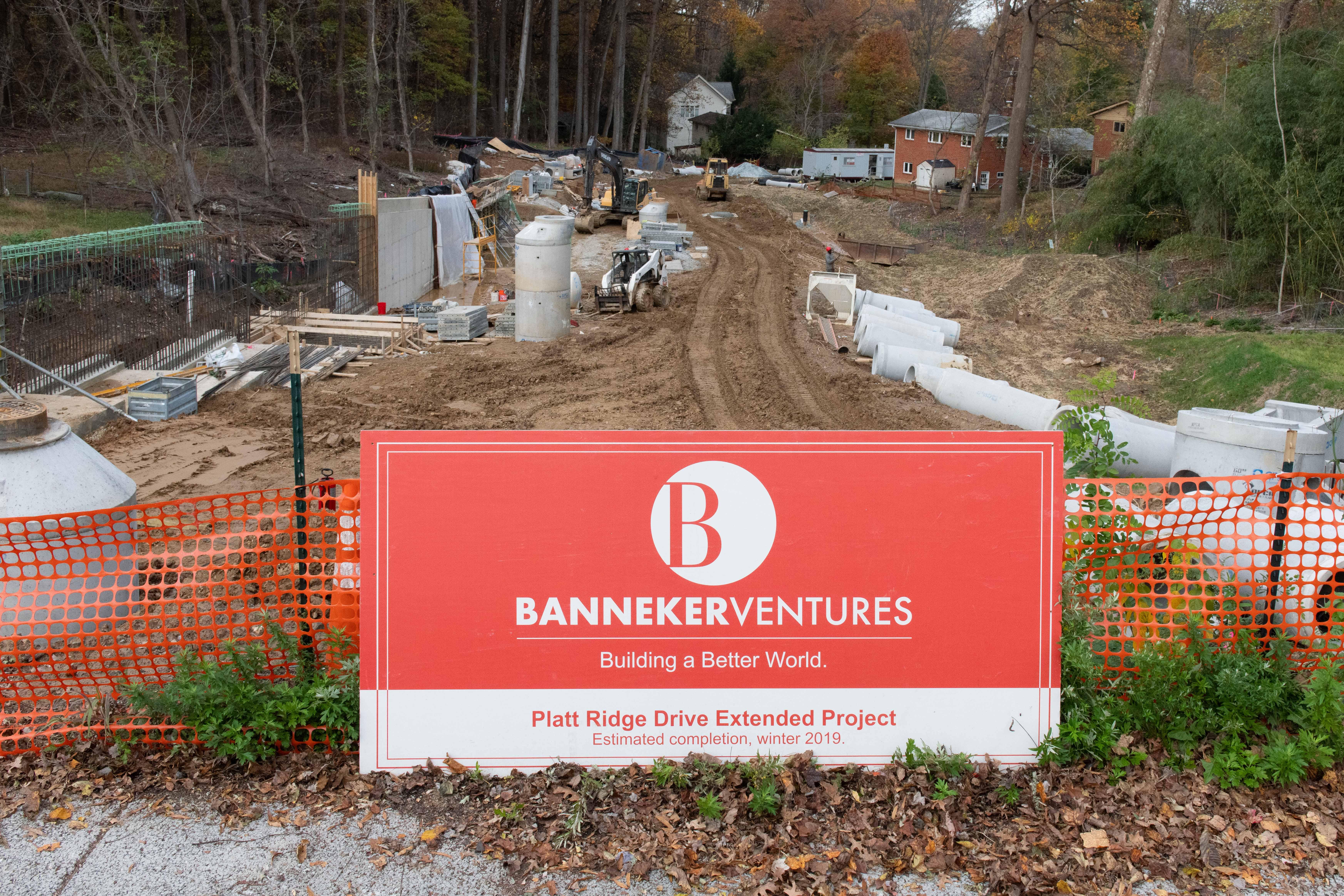 Montgomery County Platt Ridge Drive Extended