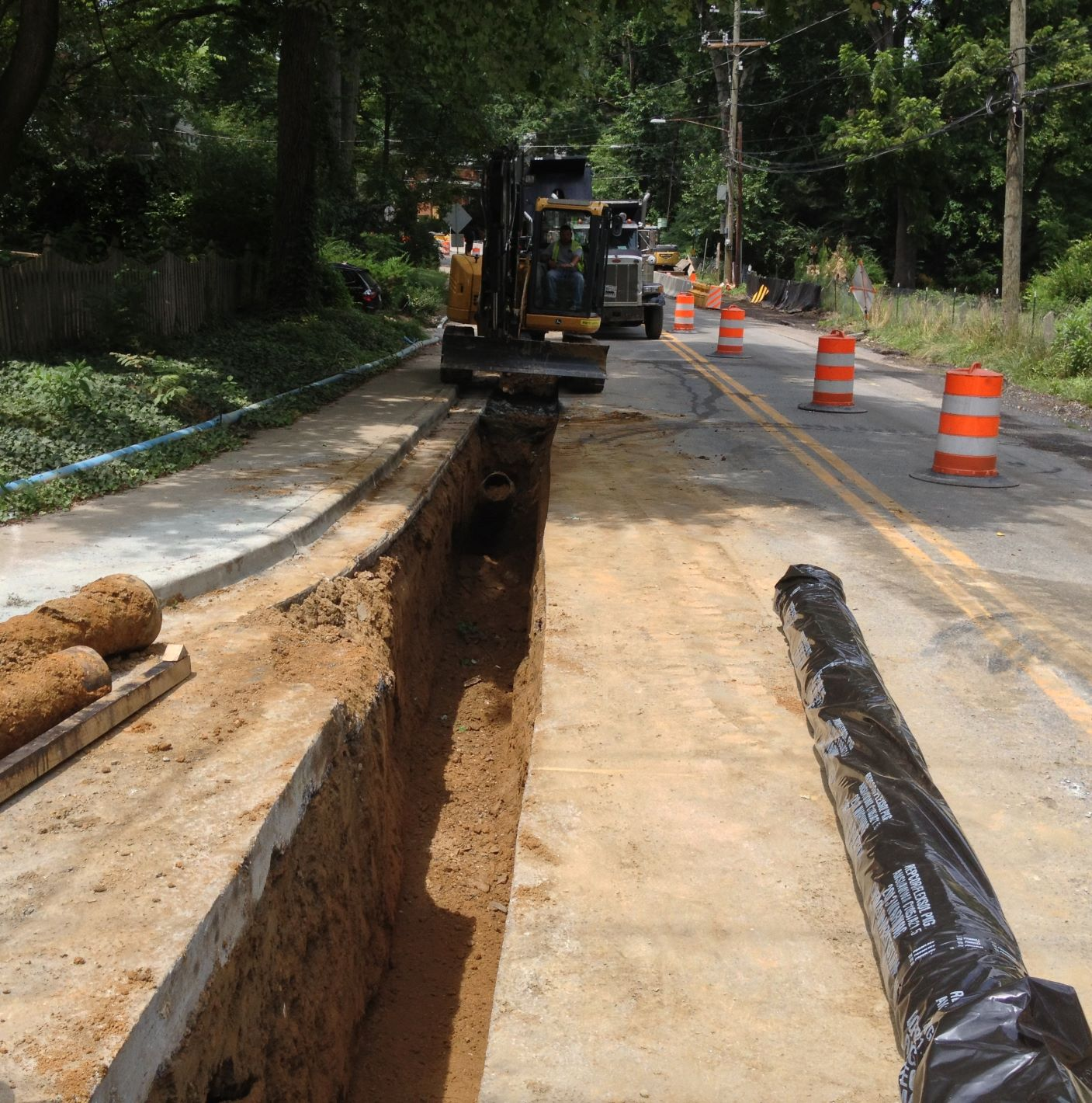 Dale Drive Infrastructure Project