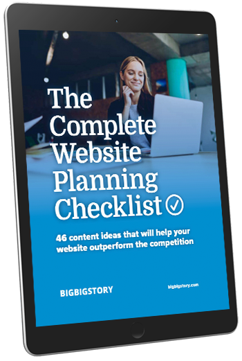 Complete Website Checklist Cover Image