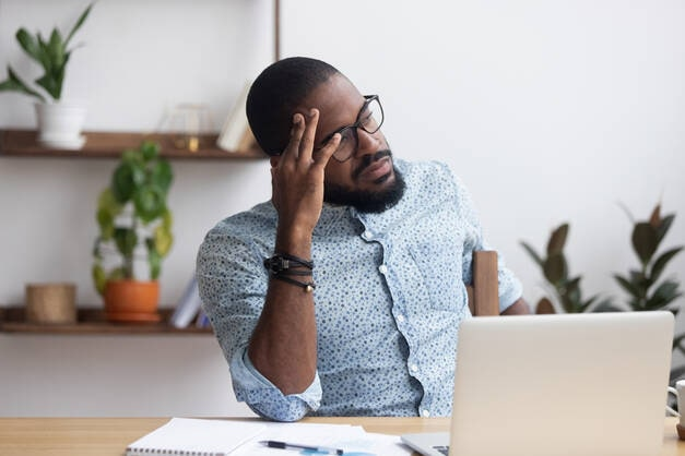 Frustrated B2B Business Owner
