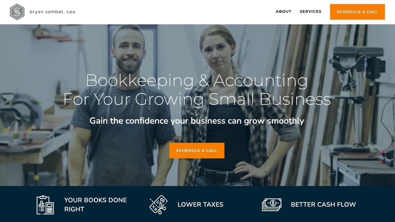 StoryBrand Accountant Example