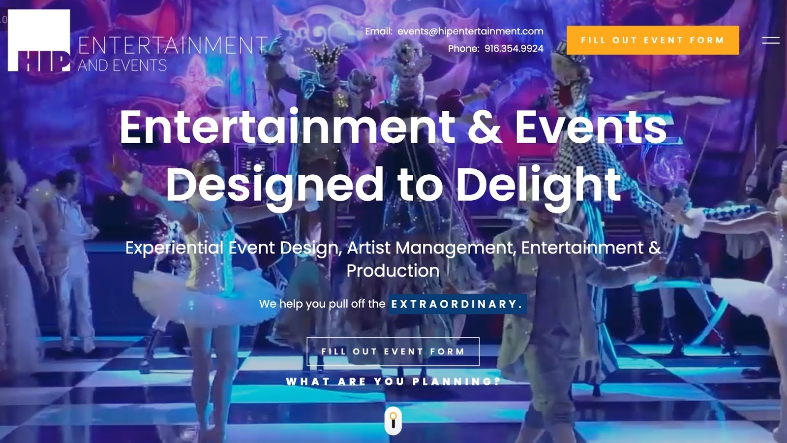 StoryBrand Event Planner Example