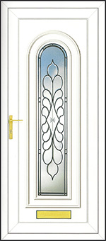 PVCu Front Door Design - Legend Ebony