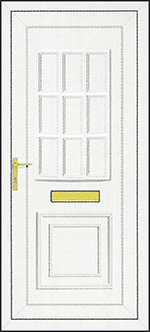 PVCu Front Door Design - Tyler