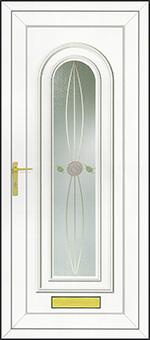 PVCu Front Door Design - Rennie Gold