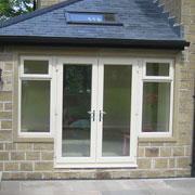 PVCu French doors