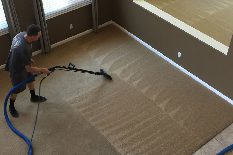 carpet cleaning a brentwood home