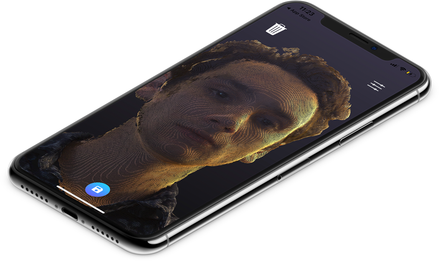 Scandy Pro - A full-color 3D scanner on your iPhone X