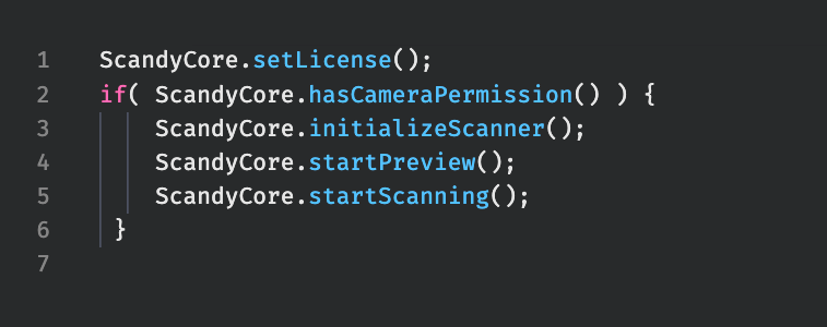 the roux setup code