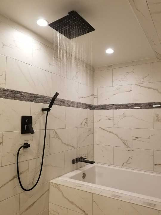 Bathoom Remodeling Contractor Shower Install