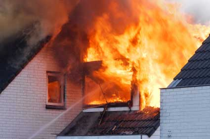 House Fire Water Mitigation