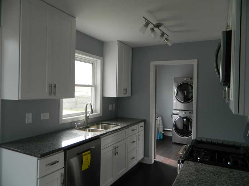 Fire Remodel Project Kitchen