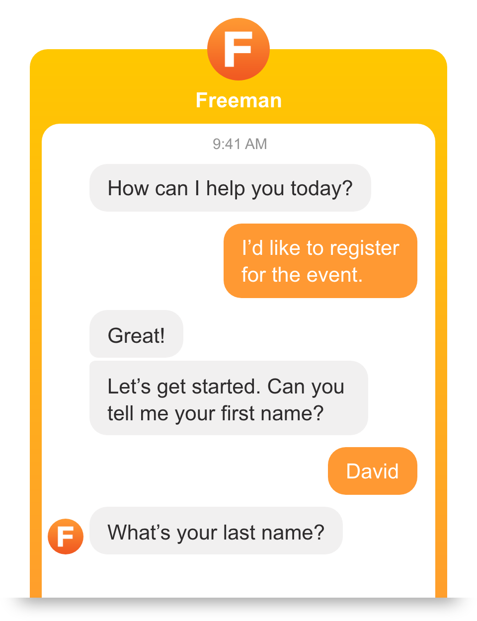 Fluent by Freeman | Voice & Chat A I  for Live Events