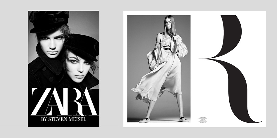ZARA brand identity | Southampton graphic design and Branding by Faculty