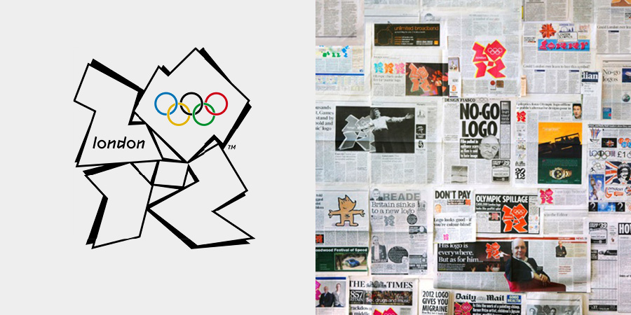 The Olympics 2012 logo | Southampton graphic design and Branding by Faculty