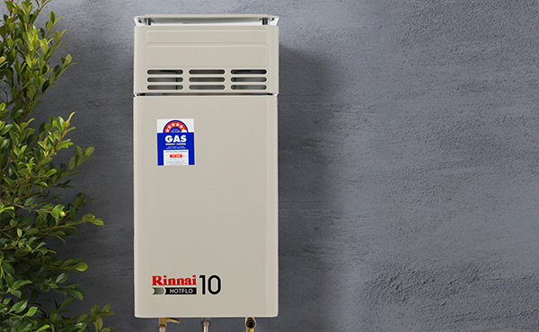 Rinnai instant hot water system