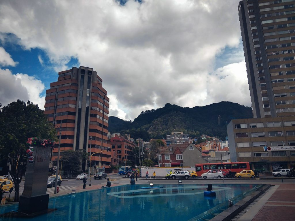 Downtown Bogotá, Colombia – Bogotá's financial center