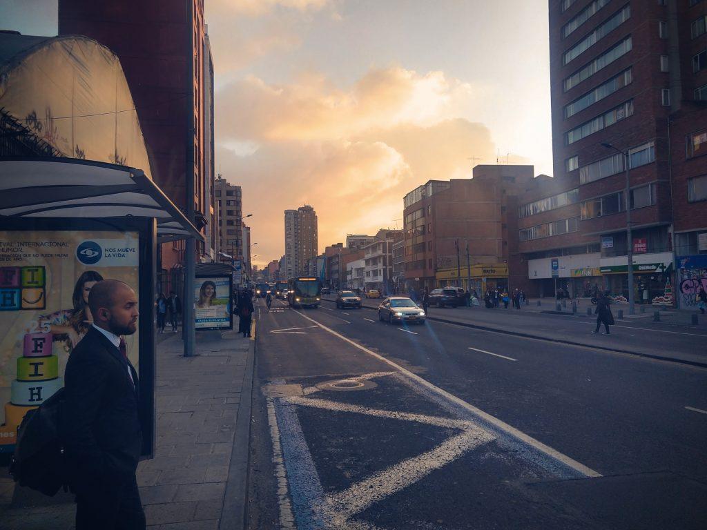 Downtown Bogotá, Colombia – Carrera 7