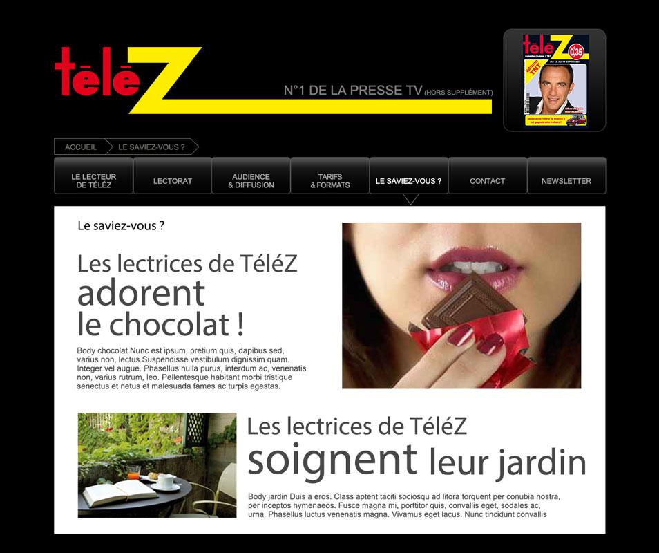 "site internet ""telez"""