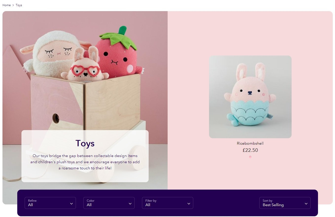 Boost theme - collection feature header