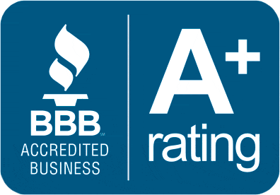 We have an A+ Rating on BBB