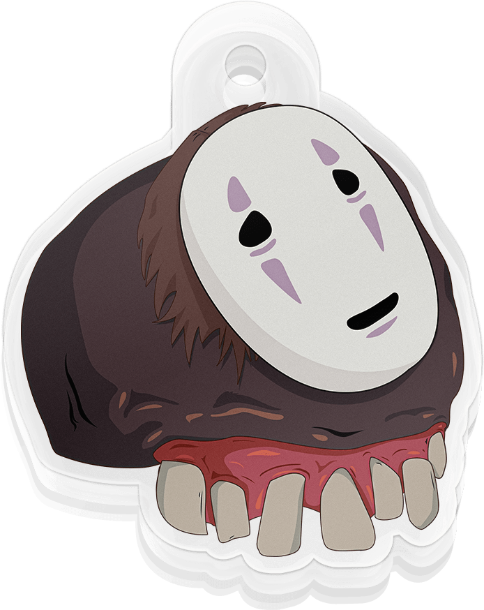 Hungry No-Face Charm