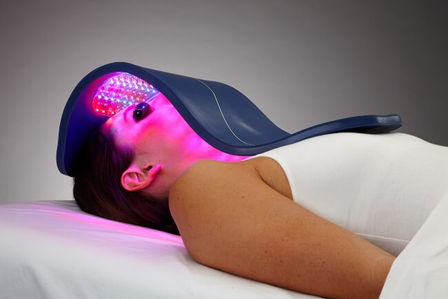 LED Light Therapy Hydrafacial Austin