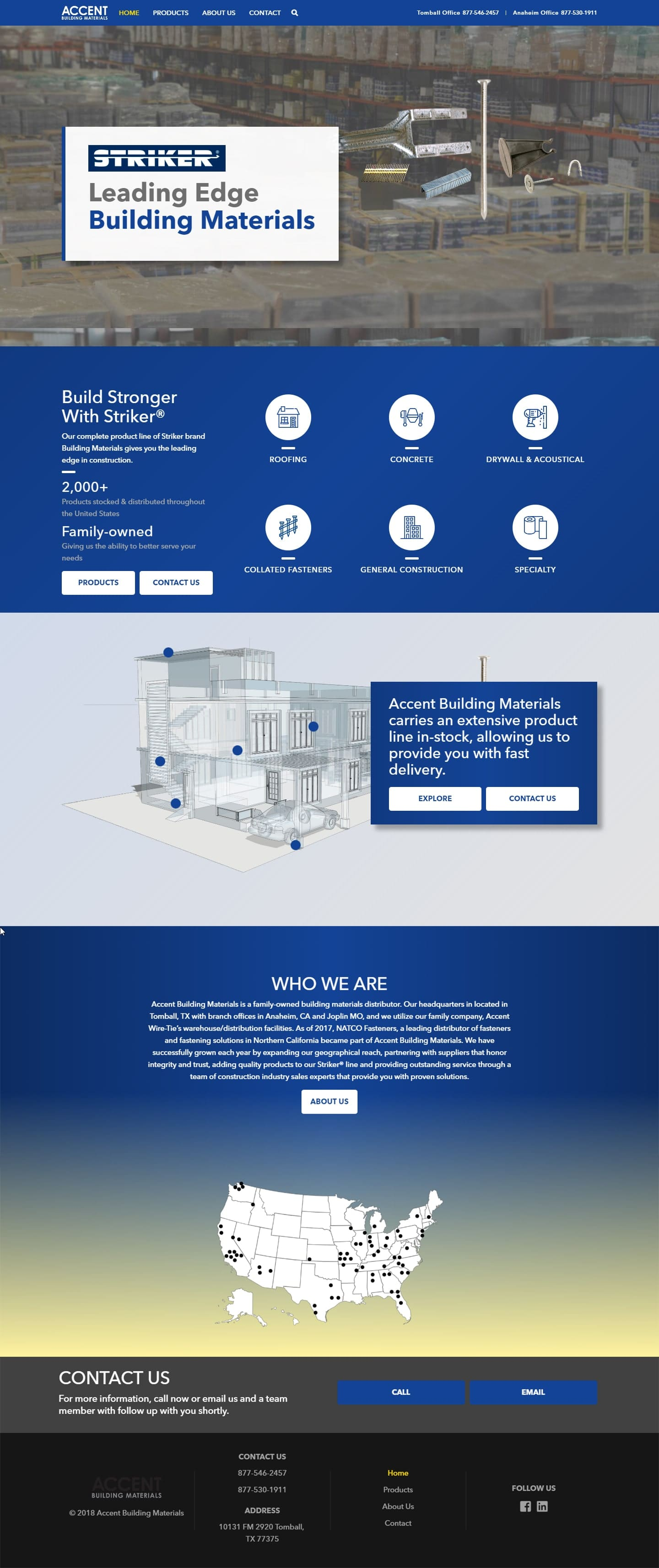 Revive Room Web Design Page