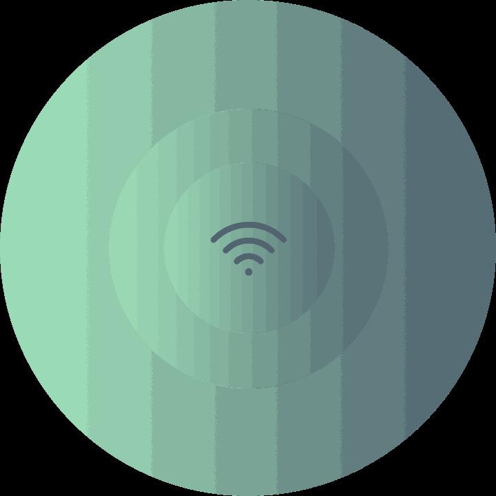 wireless wifi signal icon