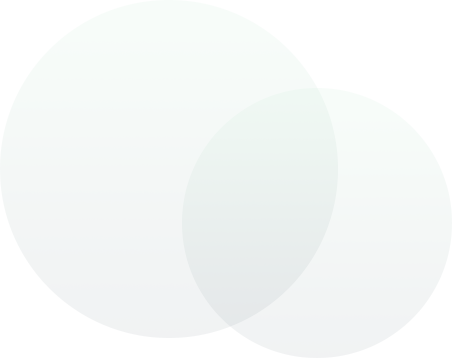 illustration of green circles
