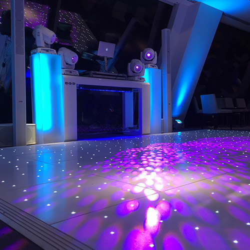 image of SES's dance floor equipment