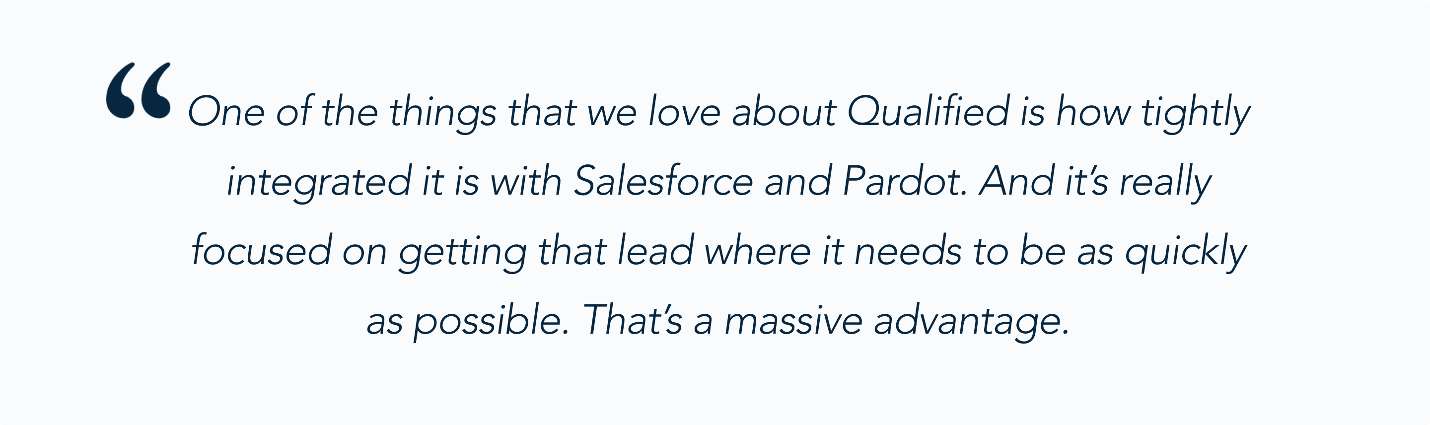 Andrea Tarrell on Qualified for Salesforce Pardot