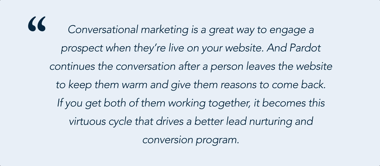 Andrea Tarrell on Pardot and Conversational Marketing