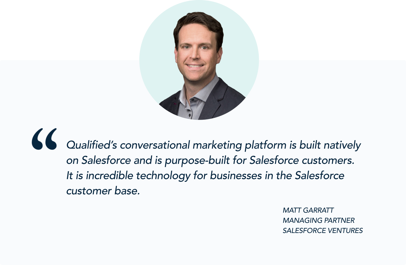 Matt Garratt, Managing Partner, Salesforce Ventures