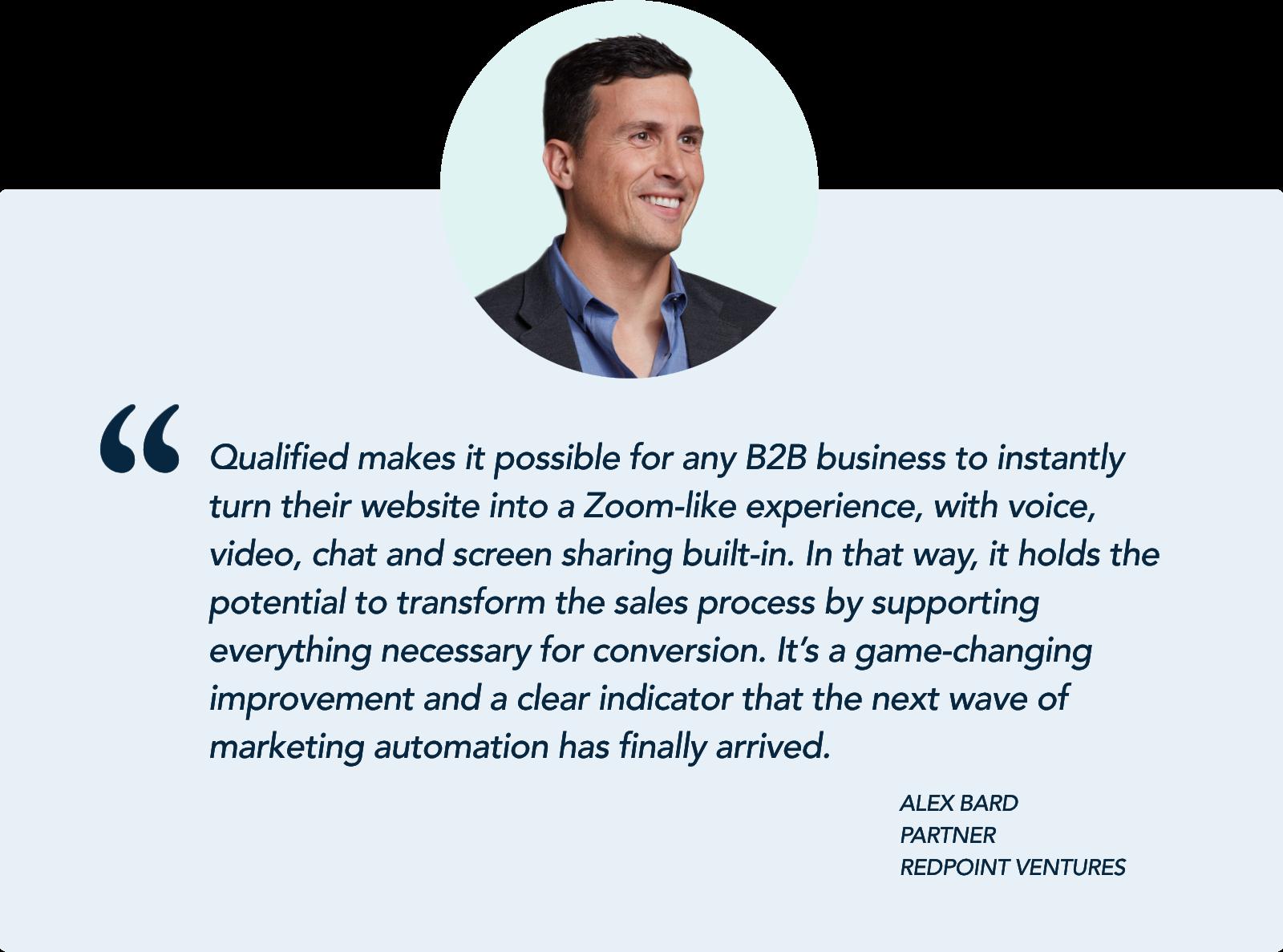 Alex Bard, Partner, Redpoint Ventures