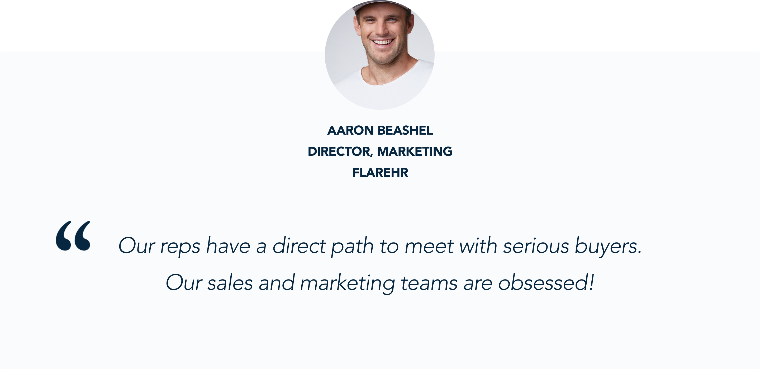Aaron Beashel, Director of Marketing at FlareHR, talks about why Convesational Marketing is so important