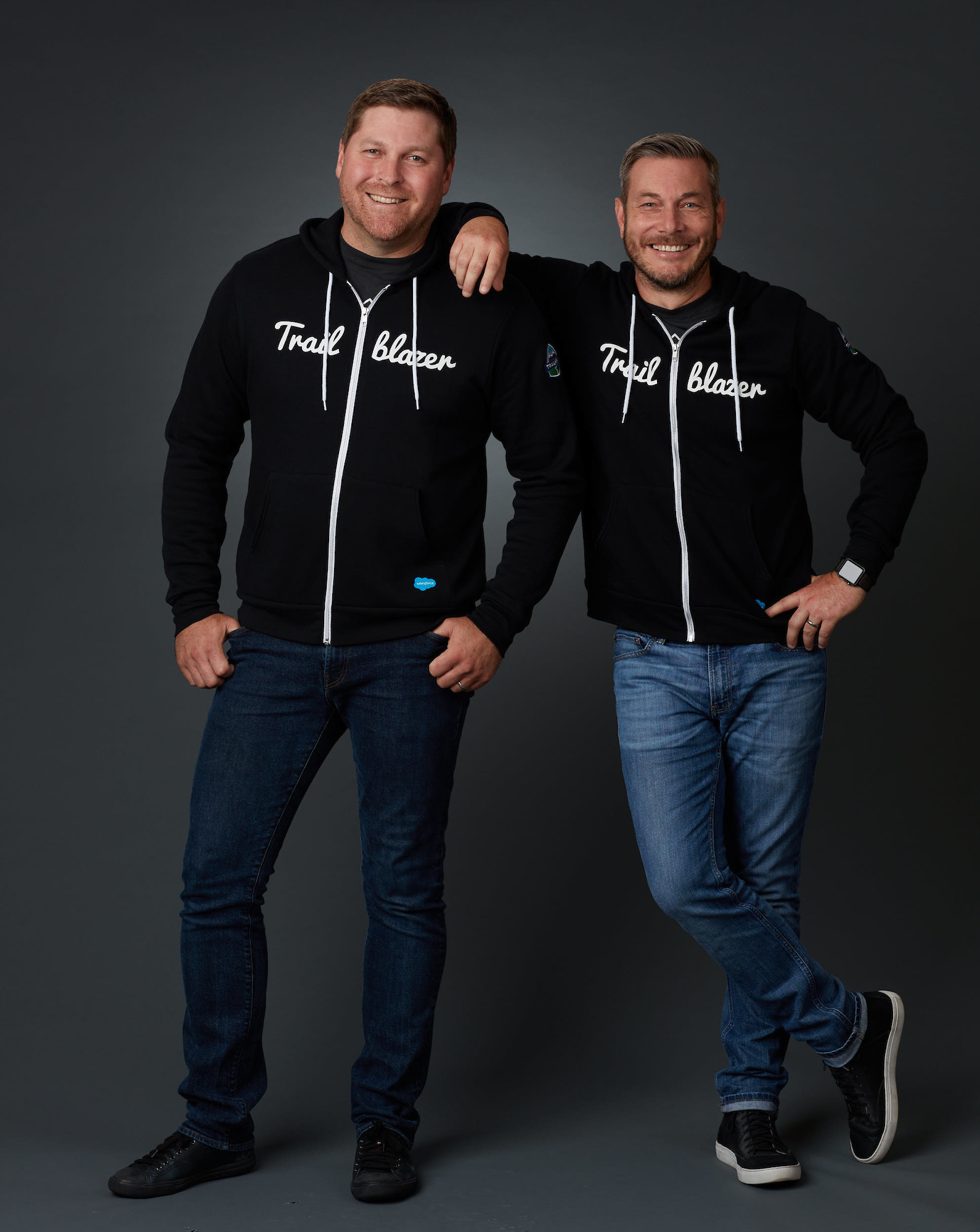 Qualified's Co-Founders Kraig Swensrud and Sean Whiteley are Salesforce Trailblazers
