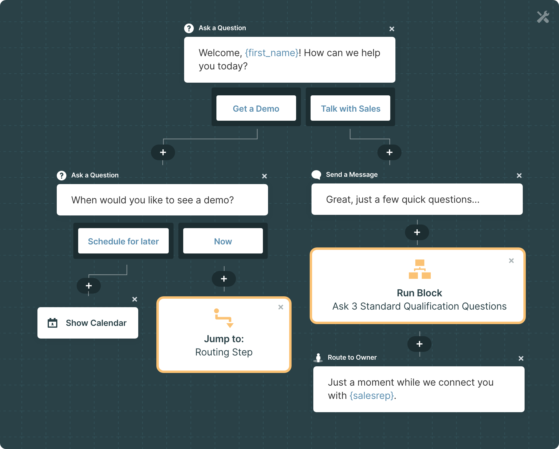 Qualified Summer '20 Release: New Experience Builder Functionality