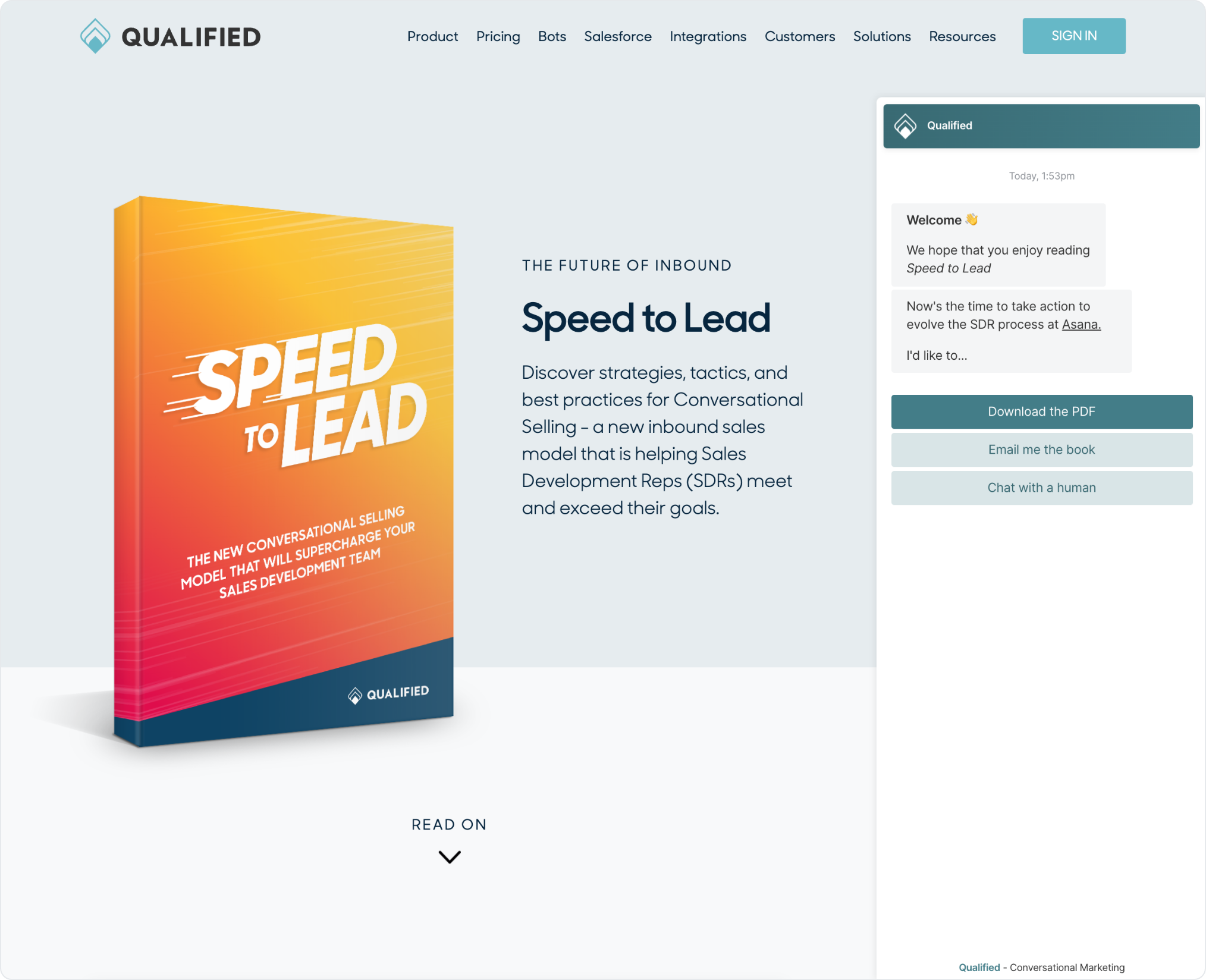 Qualified Summer '20 Release: Make your content interactive with Conversational Content Marketing