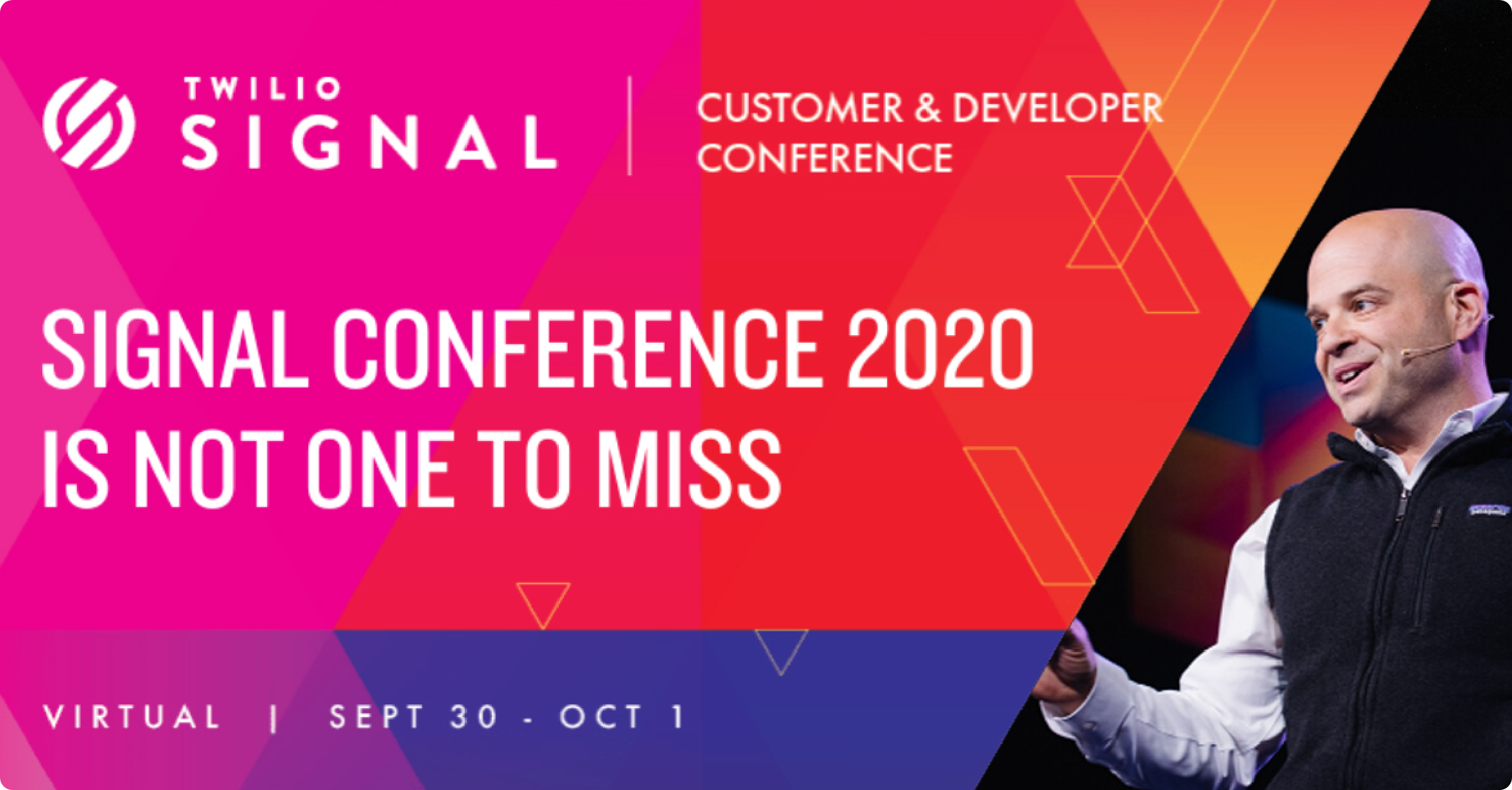 Twilio's annyal Signal Conference will be completely virtual
