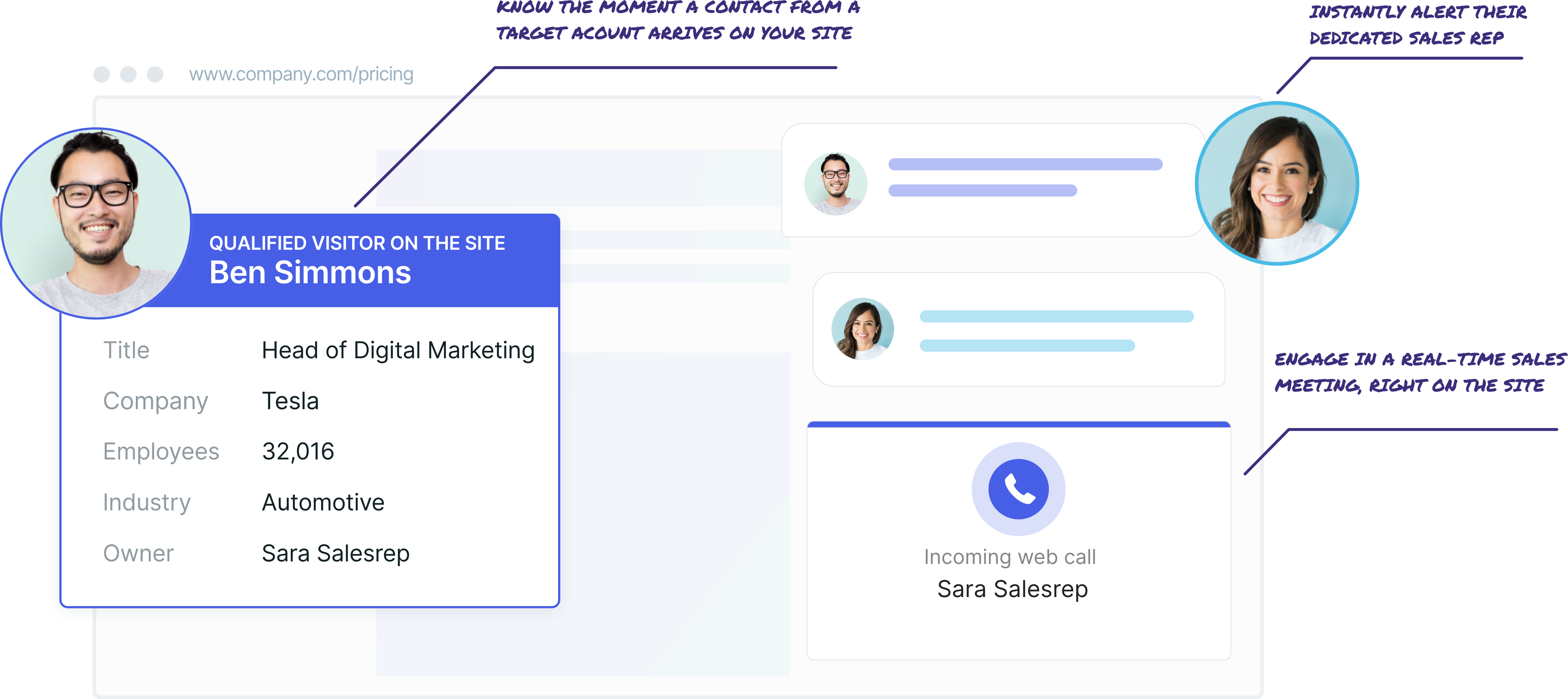 Conversational ABM instantly connects sales teams with target accounts