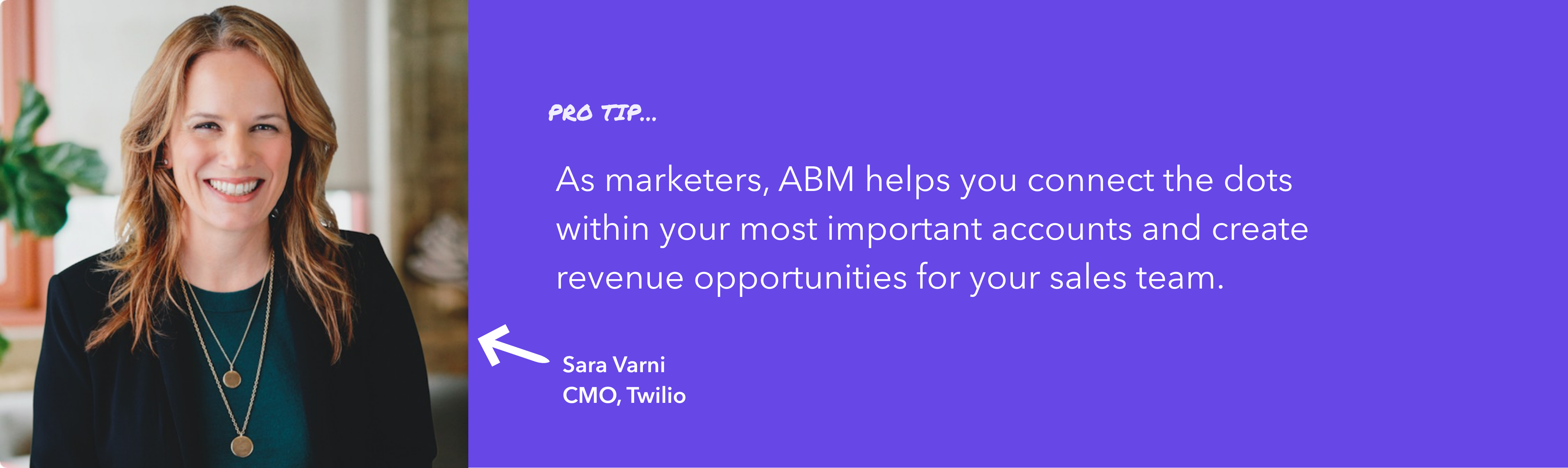 Sara Varni, CMO at Twilio, shares the value of doing ABM